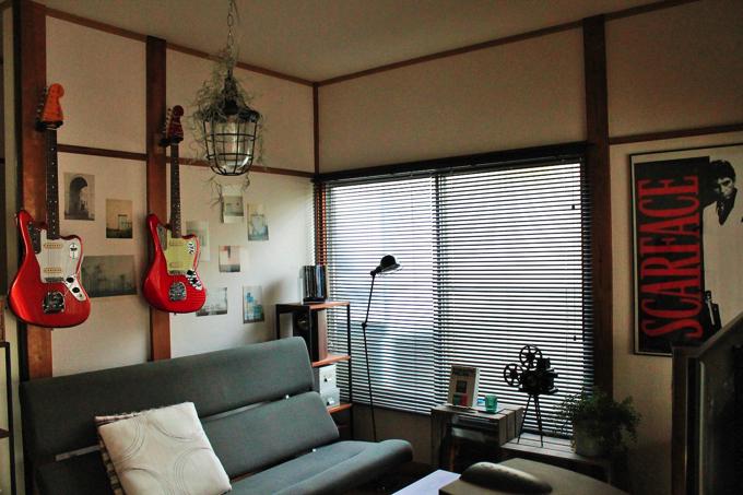 IMG 7704 21 【第3回】突撃! ワンルーム王子~築50年のアパートを活かした音楽と映画の家~